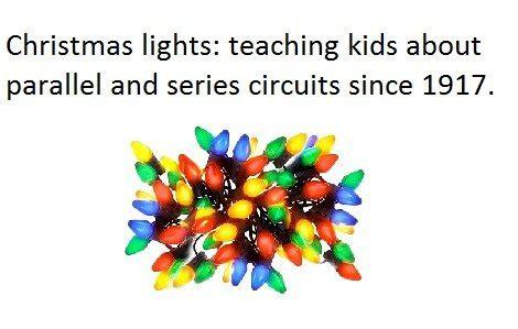 parallel christmas lights lights