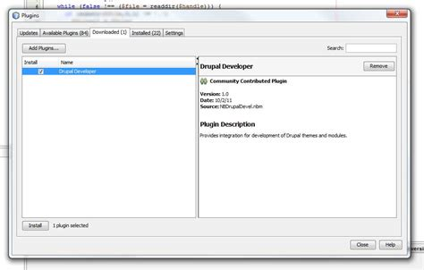 configuring netbeans drupal org installing hollyit