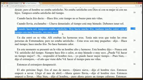 3 easy spanish short learn spanish with paulino reading a short story in spanish el hombre insaciable youtube