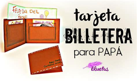 tarjetas par papa apexwallpaperscom tarjeta billetera para papa mybluepas youtube