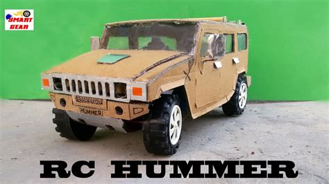 Make A Car Out Of Paper - wow rc hummer car how to make rc hummer car out
