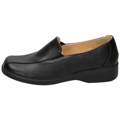 flat comfy shoes dr lightfoot faux leather flat lightweight slip on comfy