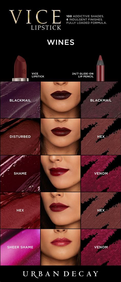 wine colored lipstick v it up with these bold wine colored shades of vice