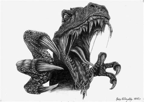 5 11 Beast Millitary Black Blue velociraptor turok by arpmadore on deviantart