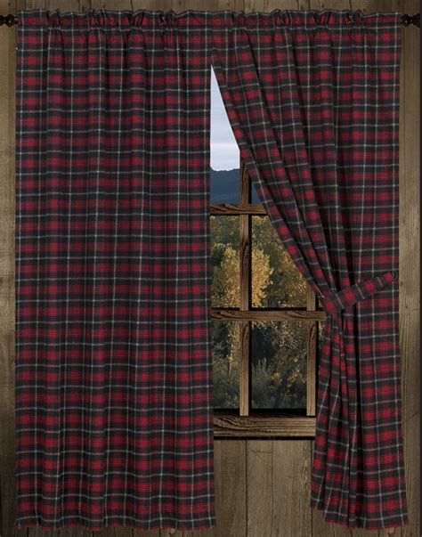 choosing cabin curtains the home decor ideas