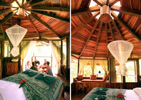 tree house interior design sustainable treehouse community in costa rican jungle