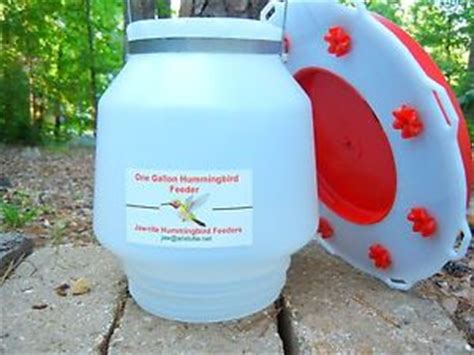 one gallon 128 oz hummingbird feeder ebay
