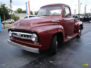 1953 Ford Truck 1953 Ford F100 Truck Exterior Photos Gtcarlot