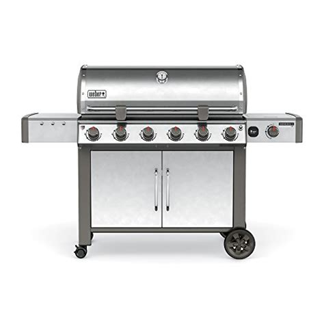 weber 68004001 genesis ii lx s 640 gas grill stainless steel gas barbeque reviews