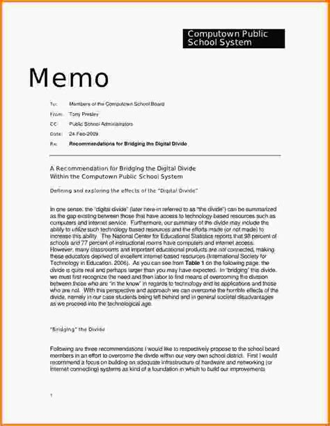 Memo Template Page On Vertex42 5 Policy Memorandum Exles Letterhead Template Sle