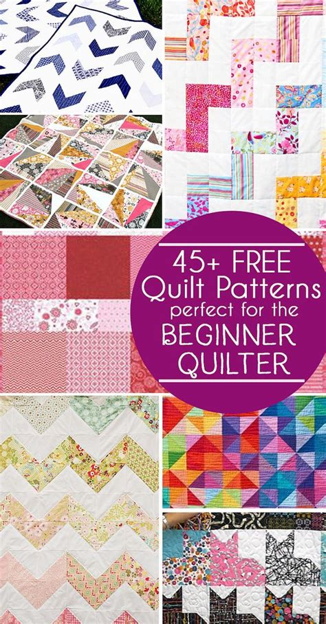 quilt pattern activities 45 free easy quilt patterns perfect for beginners