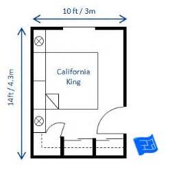 size bedroom a bedroom size of 10 x 14ft would fit a california king