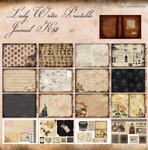 Printable Journal Kits | the lady writer printable journal kit creative writing blog