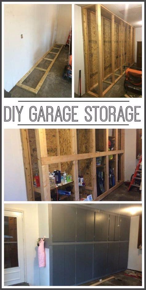 Garage Storage Cabinets Do It Yourself 1000 Ideas About Garage Shelving On Garage