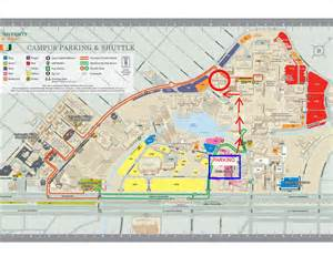 Miami Campus Map by Directions Parking Maps For Miami Law University Of