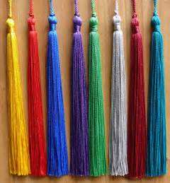buy graduation tassel single color and colored