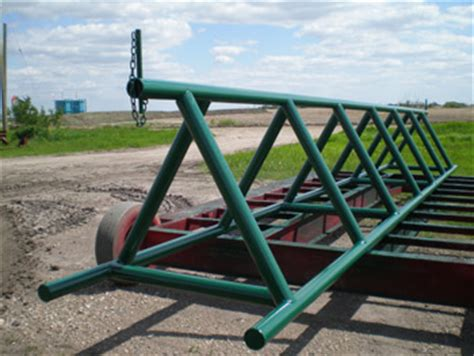 alf img showing gt drill pipe racks