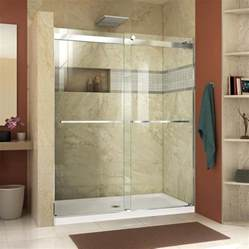 44 shower door shop dreamline essence 44 in to 48 in frameless chrome