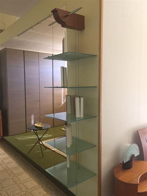 libreria italia libreria cattelan italia in vetro sospesa complementi a