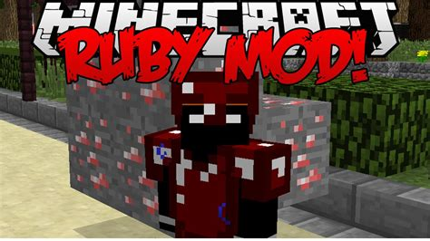 Item Ruby minecraft ruby tools items mod the is real