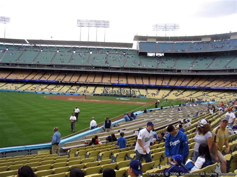 v section section 49 seat view at dodger stadium rateyourseats com