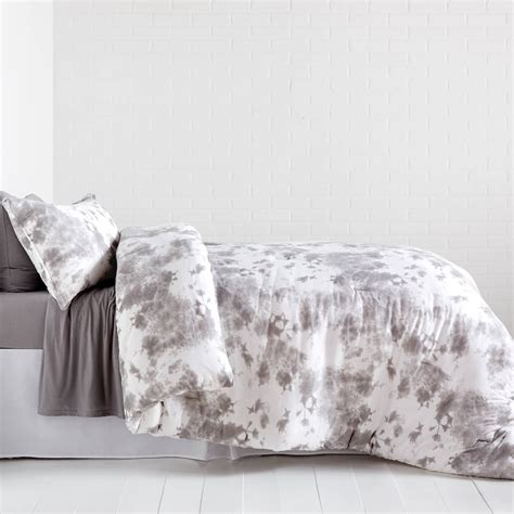 jersey bedding tie dye jersey comforter and sham set dormify