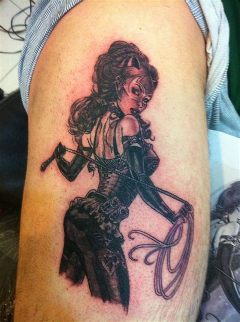 catwoman tattoo 1887 by aralkizilkaya on deviantart