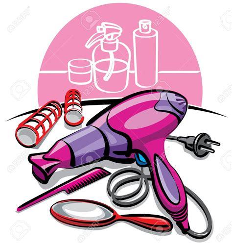 Salon Hair Dryer Clipart hair dryer and scissors clipart 67
