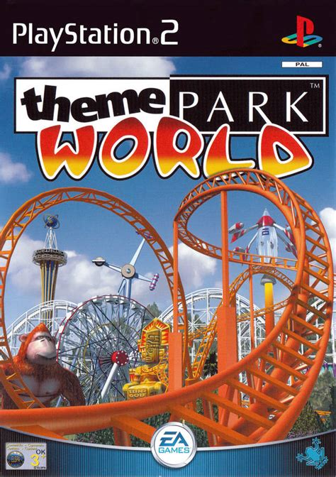 theme park ps3 theme park roller coaster box shot for playstation 2
