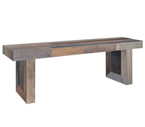 trestle dining bench angora reclaimed wood trestle dining bench 71 quot zin home