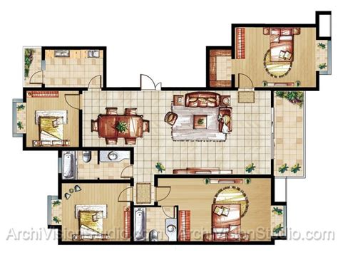 Home Floor Plan Designer Excellent House Plans With Open Floor Plan Design Also