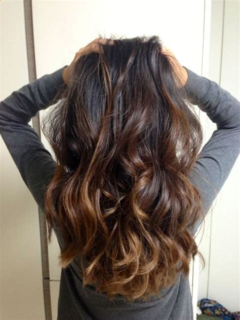 ombre hair for brunettes top balayage hairstyles for black hair