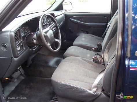 2000 Silverado Interior by Graphite Interior 2000 Chevrolet Silverado 1500 Regular