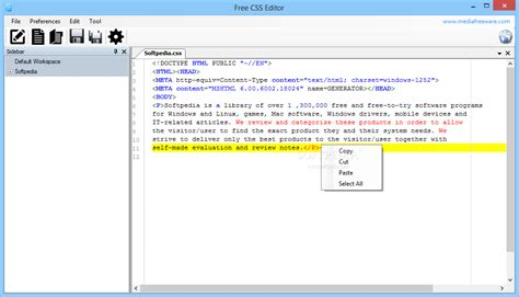 html layout editor free free css editor download