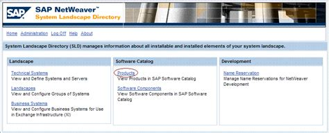 Landscape Definition In Sap Working With System Landscape Directory Sld Process