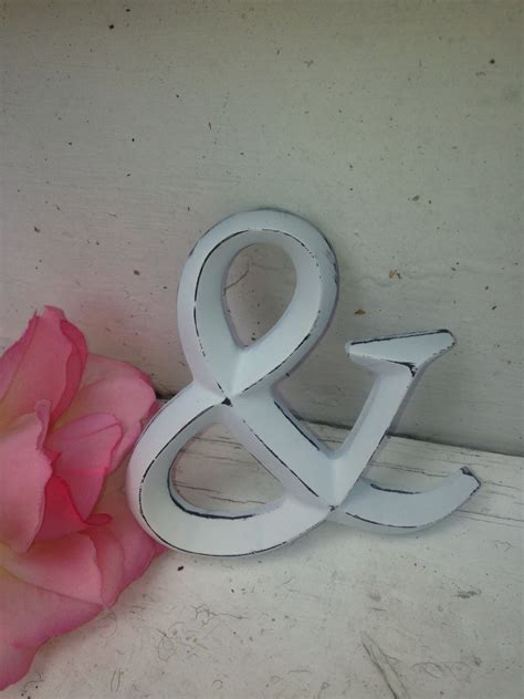 wall decor shabby chic letters 4 letters by labellascottage
