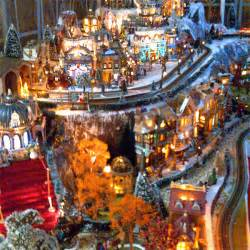 lighted villages home design image ideas lighted display ideas