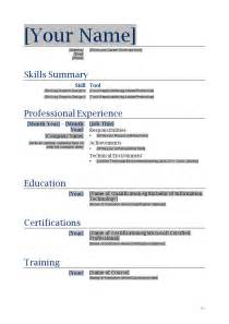 Microsoft Word Mac Resume Template by Free Printable Resume Templates Microsoft Word Learnhowtoloseweight Net