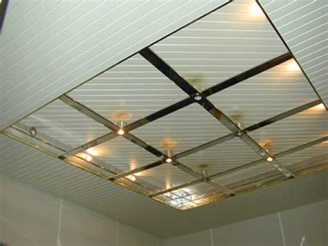 Modern Drop Ceiling Metal Ceiling Designs For Modern Bathroom And Kitchen