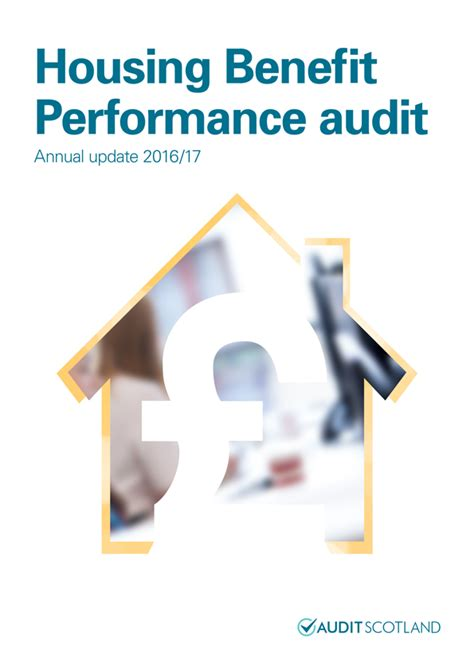 housing benefit home audit scotland