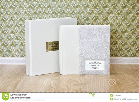 wedding photo book with leather combined cover and metal - Wedding Photo Book Metal Cover