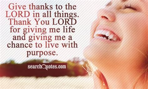 thank you letter to for giving me thanks god for giving me a second quotes