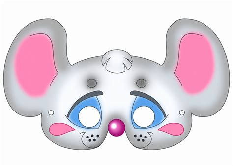 printable mouse mask template 5 mouse mask template printable itepo templatesz234