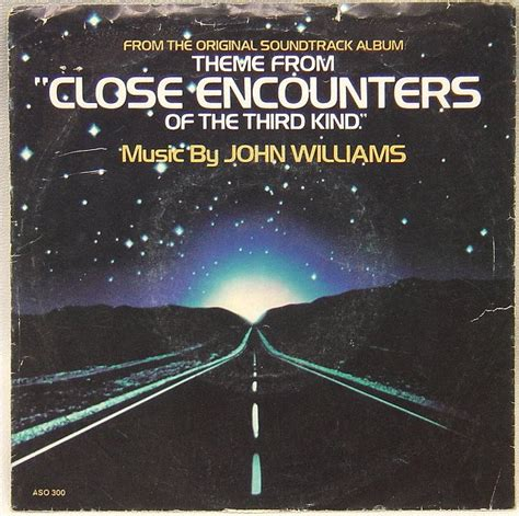 theme music close encounters third kind 45 rpm picture sleeves page 90