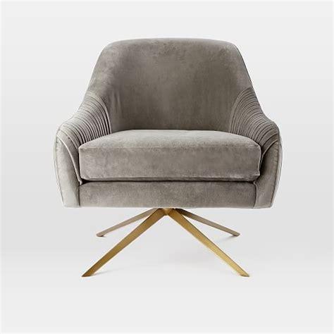 swivel chairs for roar rabbit swivel chair west elm