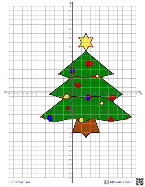 christmas tree stumper math 17 solution 17 best images about coordinate worksheets on sports logos math and thanksgiving