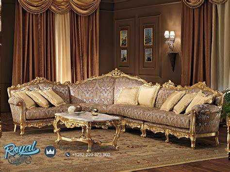 sofa mewah sofa tamu mewah ukiran klasik ruang keluarga prodotti