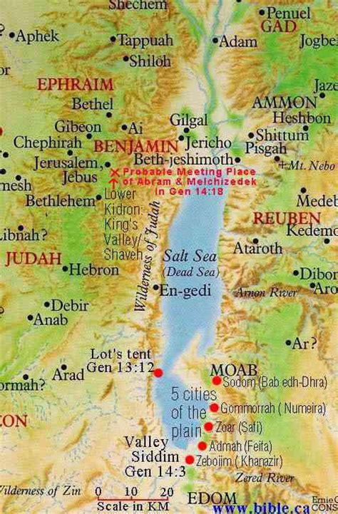 sodom and gomorrah map my green mission bible accounts supported by dead sea