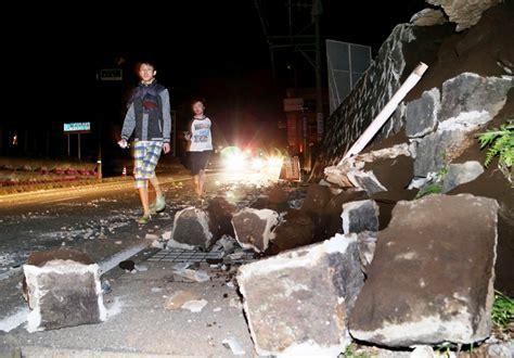 imagenes terremoto japon 2016 dos terremotos en jap 243 n provocan 41 muertos la rep 250 blica ec