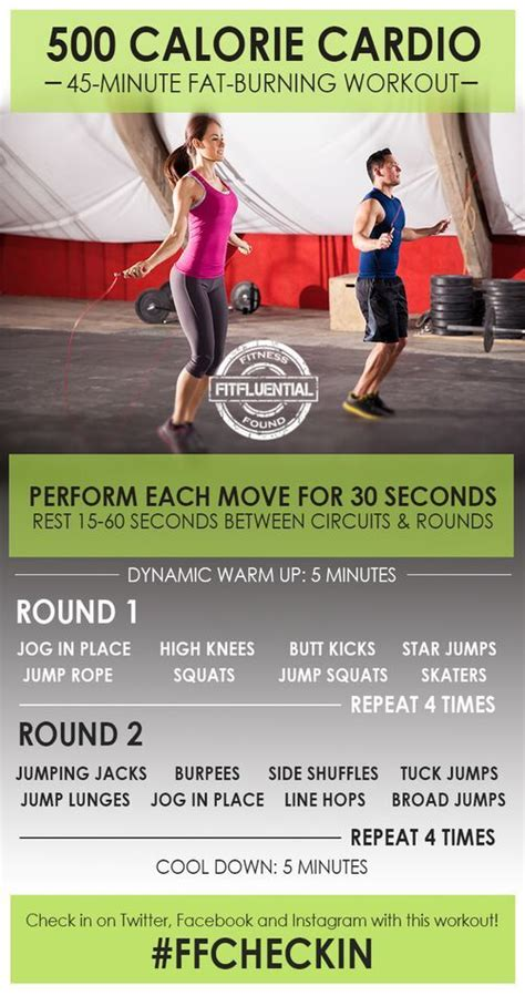 cardio workouts fitfluential